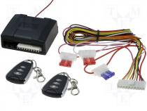 Remote control 12VDC Kit contents:2 remote controls,drivers