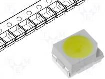LED SMD 3528 white cold 1400 2500mcd 120°