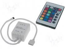 LED controller, Channels 3, 6A, Uout 12VDC, Usup 12VDC