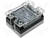 Relay solid state Ucntrl 80÷280VAC 125A 48÷480VAC Series ASR