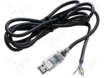 Module USB RS422 cable USB cable 1.8m Supplying output 0V DC