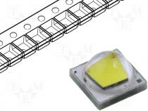 LED  power 8300(typ)K white cold 122(typ)lm 120° Front convex