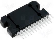 Integrated circuit audio amplifier 45W FLEXIWATT25 - 3 84