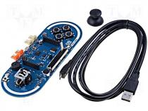 Development kit Arduino uC ATMEGA32U4 No.of diodes 5