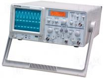Oscilloscope analogue Band ≤30MHz Channels 2 300V