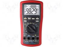 Digital multimeter LCD (9999) Bargraph 41segm.60x/s 5x/s