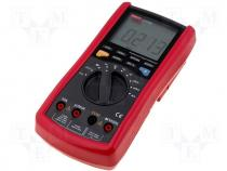 Digital multimeter LCD 3,75 digit (3999) with bargraph