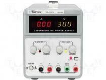 Pwr sup.unit laboratory Channels 2 0÷30VDC 5VDC 0÷5A 1A