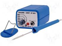 Soldering station, analogue, 10W, 100÷400°C