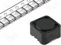 Inductor wire, 33uH, 3.9A, 0.053Ω, SMD, 12x12x8mm, ±20%, -40÷85°C