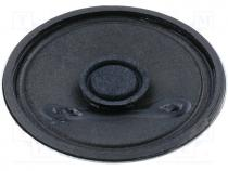 Loudspeaker, 0.25W, Sound level 88dB, 50mm