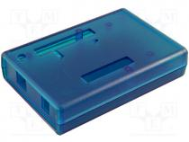 Enclosure specialist, X 75mm, Y 110mm, Z 25mm, ABS, blue