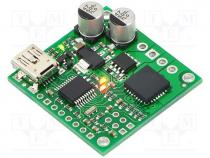 DC-motor driver, IC  MC33926, 20kHz, 3A, Uin mot 5÷28V, Channels 1