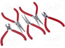 Set  pliers, Pcs 5, Package  case