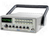 Generator  function, LED 6 digits, Frequency meter 0.5÷5MHz