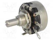 SP1.2-6K8-A Potentiometer shaft single turn 6.8kΩ 2W ±20/% soldered TELPOD