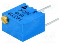 Potentiometer  mounting, multiturn, 100kΩ, 250mW, ±10%, linear