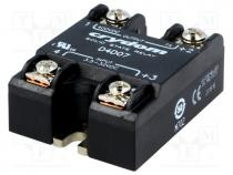 Relay  solid state, Ucntrl 3.5÷32VDC, 7A, 1÷400VDC, Series 1-DC