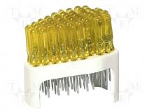 Screwdriver flat blade set of 60 pcs shank dia 3mmx40mm