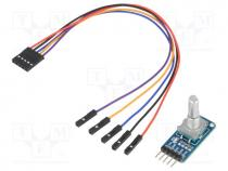 Sensor  rotation, Interface  digital, encoder, 3÷5.3V