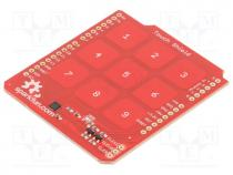 Module  control panel, 3.3÷5VDC, IC  MPR121QR2, pin strips