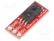Sensor  humidity sensor, 4÷5.8VDC, IC  HIH-4030, Interface  analog