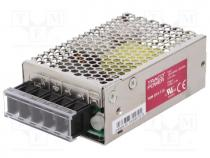 Pwr sup.unit  switched-mode, modular, 15W, 15VDC, 1A, 90÷264VAC