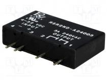 Relay  solid state, Ucntrl 4÷32VDC, 3A, 24÷280VAC, Series  RSR2