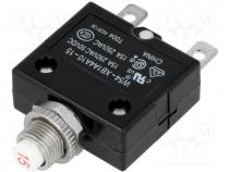 48VDC 10g T11-311-1A Circuit breaker Urated:240VAC 1A Contacts: SPST