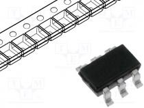 IC digital, buffer, Channels 2, Inputs 2, SMD, SOT363