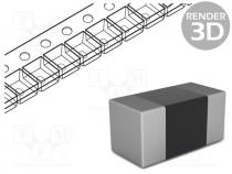 Resistor  thick film, SMD, 0603, 3.3kΩ, 0.1W, ±1%, -55÷155°C