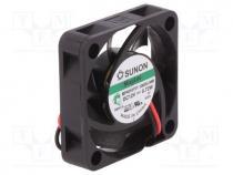 MF40101V1-G99-A Fan DC axial 12VDC 40x40x10mm 13.52m3//h 27.3dBA Vapo SUNON