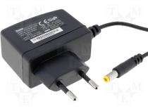Mains adaptor, switch mode pwr supply 12V 0,5A