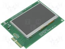 Adapter Graphics Display Powertip 4.3 TFT LCD 480x272
