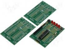 PICKIT-2 28-pin demoboard