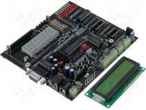 Starting kit with microcontroller AVR ATmega8