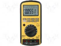 Digital multimeter 5 digits LCD Bargraph 51 segm 2,5x/s