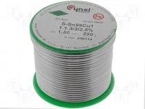 Solderwire lead free with copper addition 1,50mm/,025kg