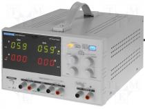 Laboratory power supply 3channel 0-30V/3A 2.5/3.3/5V