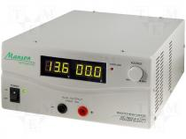 High current regulated power supply 15V/60A DC MANSON