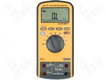 Digital multimeter, LCD (6600), with a backlit, 3x/s, True RMS