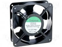 Fan 120x120x38;slide bearing;AC230V;119m3/h;37dBA