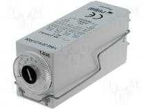 Timer, function E 24VAC