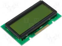 RC1202A-E - Display LCD alphanumeric 12x2 green 55.7x32x9.7mm