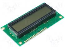RC1602A-W - Display LCD alphanumeric 16x2 84x44x13.2mm