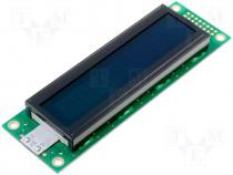 Display LCD alphanumeric 20x2 116x37x13.9mm