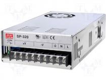 SP-320-3.3 - Pwr sup.unit pulse 3.3V 55A Electr.connect terminal block