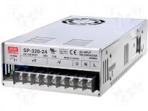 SP-320-24 - Pwr sup.unit pulse 24V 13A Electr.connect terminal block