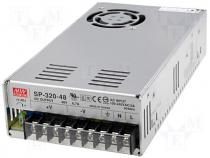 SP-320-48 - Pwr sup.unit pulse 48V 6.7A Electr.connect terminal block