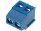 Terminal Blocks - Terminal block angled 1.5mm2 3.5mm THT screw terminals 10A